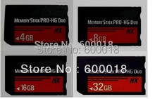 NEW h2testw Full real Capacity High Speed MS HX 4GB 8GB 16GB 32GB 64GB Memory Stick Pro Duo Memory Cards Free Gift Plastic Box