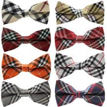 Retail 1 piece NEW 2014 Fashion  Man cotton bow tie men's bowties for men butterfly cravat bowtie(China (Mainland))