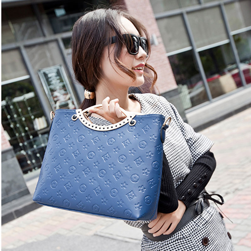 The Latest Fashion Simple Ladies Messenger Bags High Quality PU Leather Handbag Candy Color Cell Phone Women MB096(China (Mainland))