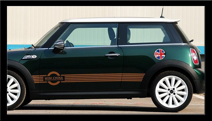 Car Styling Fuel Tank Cap Sticker Oil tank Decals For Mini Cooper Countryman R50 R52 R53 R58 R56(China (Mainland))