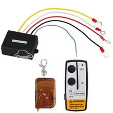50ft 12V 12 Volt Wireless Remote Control Set for Jeep Truck ATV Winch(China (Mainland))