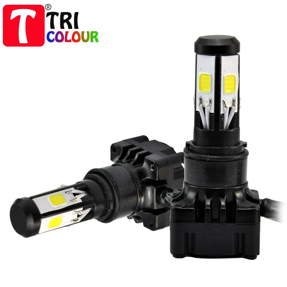2015 NEW H4 H6 BA20D 25w 2500LM 5pcs COB led Motorcycle Headlight High Low Conversion Beam for universal Motorcycle #LN56