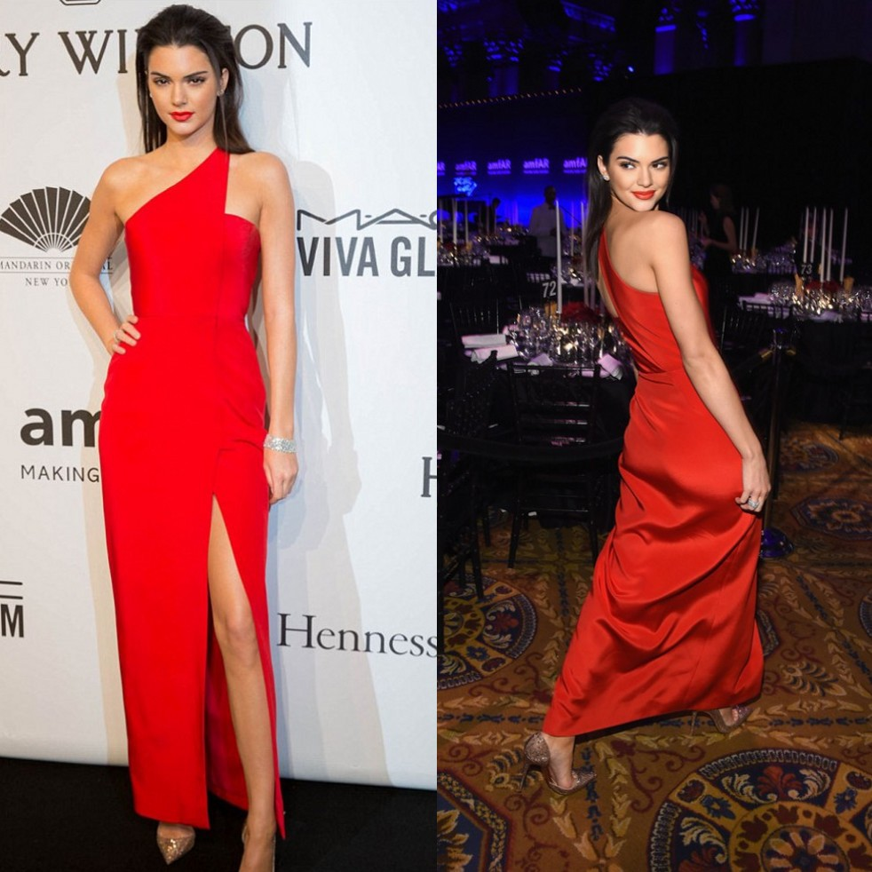 Celebrity One Shoulder Dresses 10