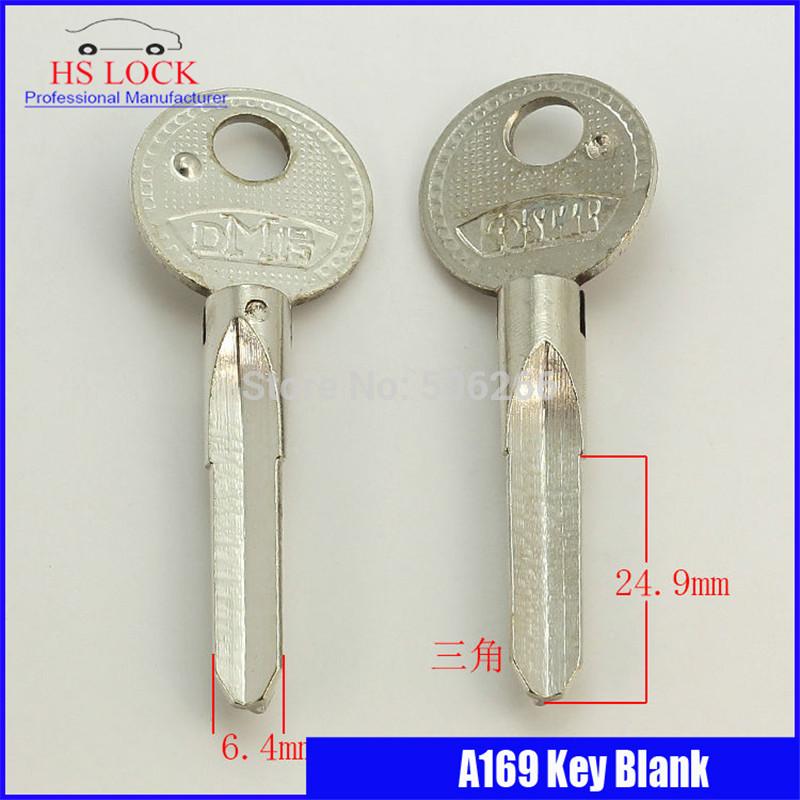 Big pian three jiao door Key blank Locksmith Supplies Blank Keys cilvil Horizontal key machine A169(China (Mainland))
