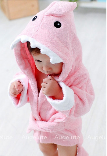 Здесь можно купить  Hot selling bathrobes child retail boy girl animal baby hooded bath towel kids bath terry children infant bathing  Детские товары
