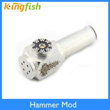 Newest E-cigarette mod hammer mod e pipe box mod e-pipe Hammer mod for 510 thread clearomizer atomizer