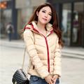 women coat new 2016 autumn and winter jacket women slim short cotton padded jacket outerwear winter