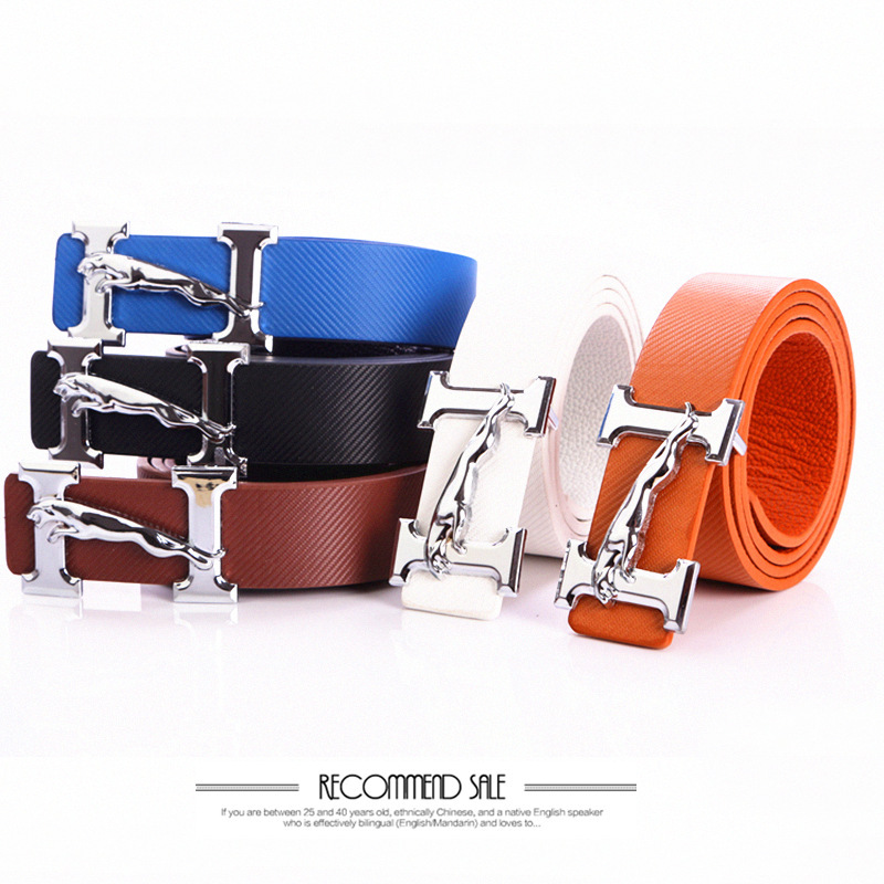 famous designer belts f407  2016 new belts High Quality famous Brand men belts luxury Ceinture Homme Designer  Belts Leopard tactical