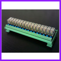 16 Road 10A OMRON Relay Module Output Board Expansion Board RM 10A1R16P