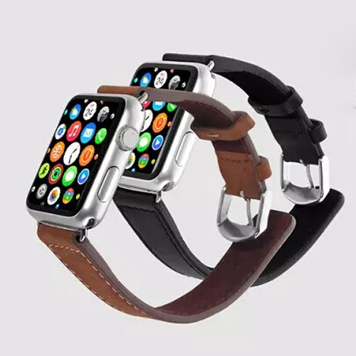 For Apple watch band sport Edition Genuine Leather loop cuff 42mm 38mm for apple iwatch watchband strap with Retail package(China (Mainland))