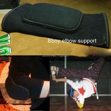 Би-бой налокотники поддержка черный хлопок губку баскетбол спорт налокотники