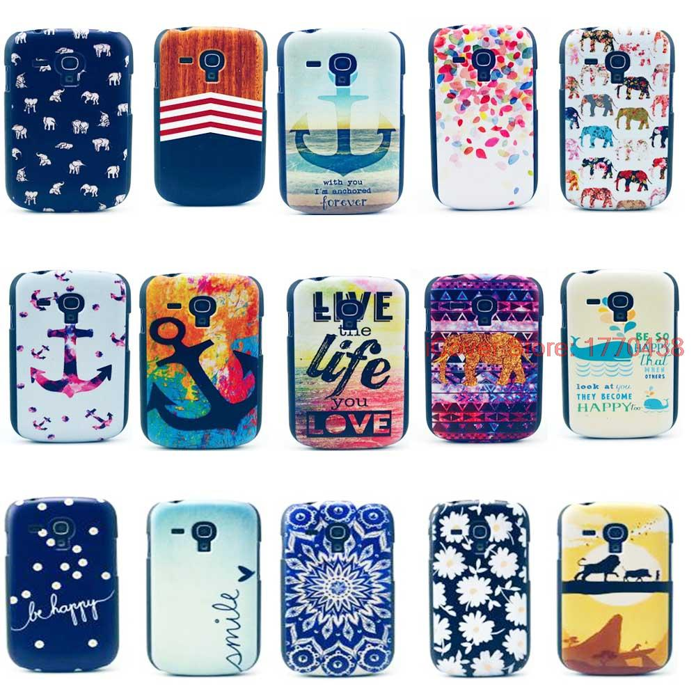 Lovely TPU IMD Printing Shell Cell Phone Protector Soft Back Cover Case For Samsung Galaxy S3 SIII Mini i8190 S 3 III 8190(China (Mainland))