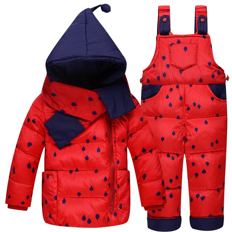 Baby Snowsuit Next Warm Suit Children Clothing Newborn Toddler Winter Boy Girl Set Coat + Jumpsuit Infantil Casaco Kids Clothes<br><br>Aliexpress