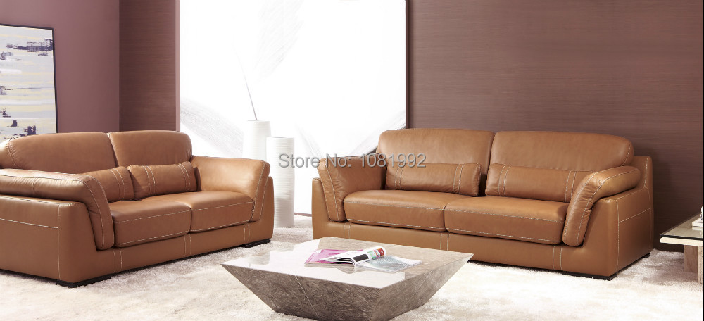 Italy Top Grade Cow Leather Sofa Sets Modern Sofa For Your