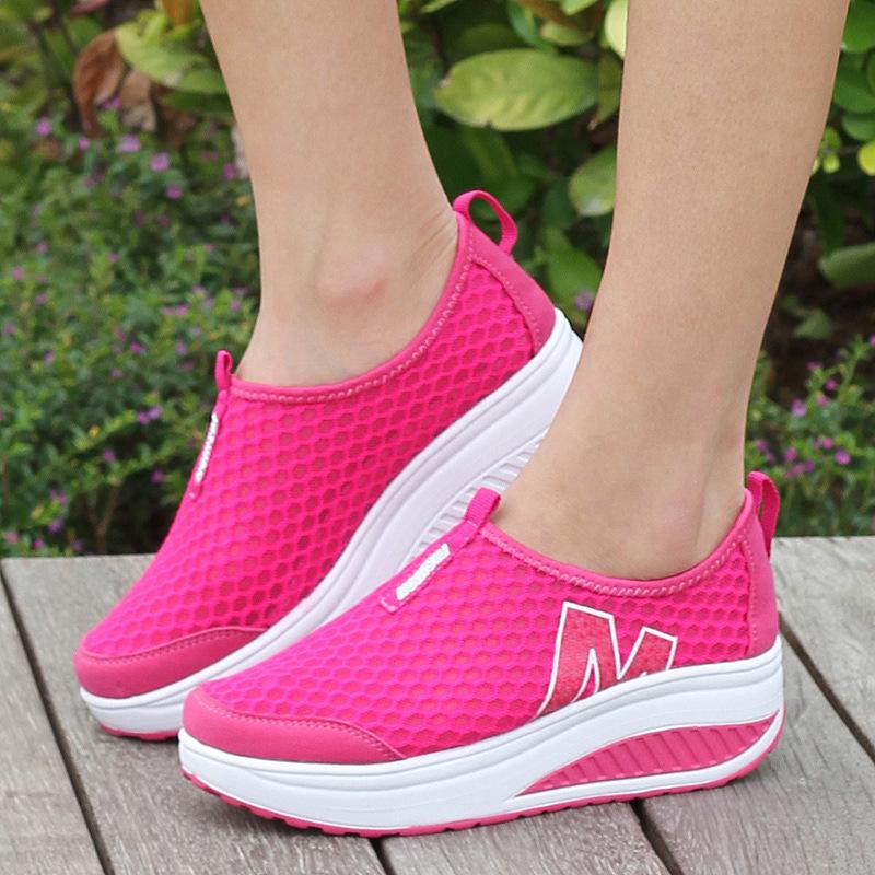 Height Increasing 2016 Women Shoes Spring/Autumn Women's Casual Platform Shoes Fashion Flats Shoes For Women Swing Wedges X0280(China (Mainland))