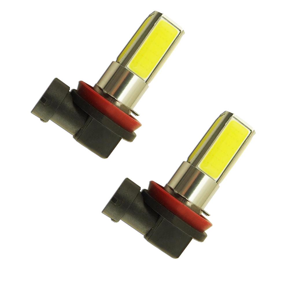 2PC 6000K High Power H8 H11 COB LED Fog Driving Headlight Light Lamp Bulb White<br><br>Aliexpress
