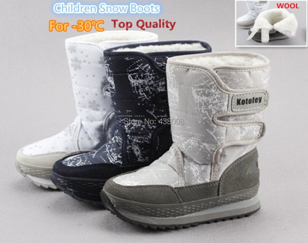 Kotofey Boys Grey Boots 152123-32 Genuine Leather Shoes for Kids Orthopedic Shoes with Arch Support