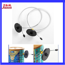 Eas system 8.2Mhz milk powder tin/can security tag with ajustable lanyard 500pcs for eas anti theft system