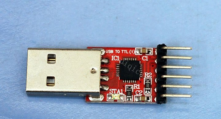 CP2102 USB to Serial Converter Hook-Up Guide - learn
