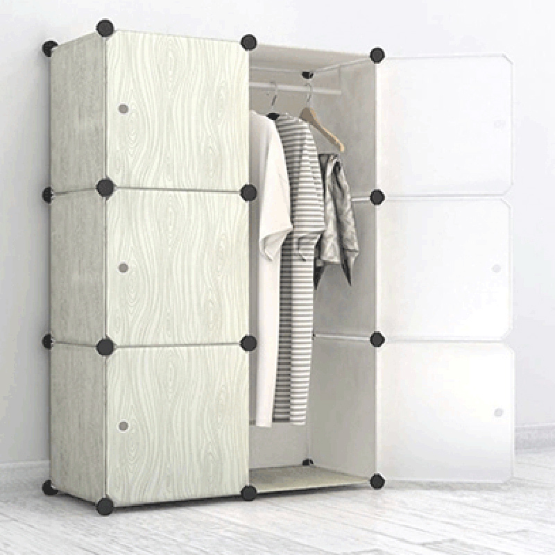 Deepen Bedroom Furniture Wardrobe Closet Cabinet Diy Removable Storage Organizer Box Cabinets Pp