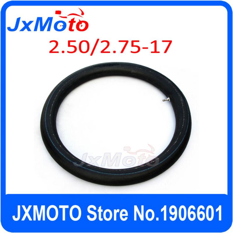 CRF 70/KLX110/ dirt bike parts 17 inner tube for dirt bike/pit bike front 17 inch tyre parts 2.50-17 Inner tube free shipping(China (Mainland))