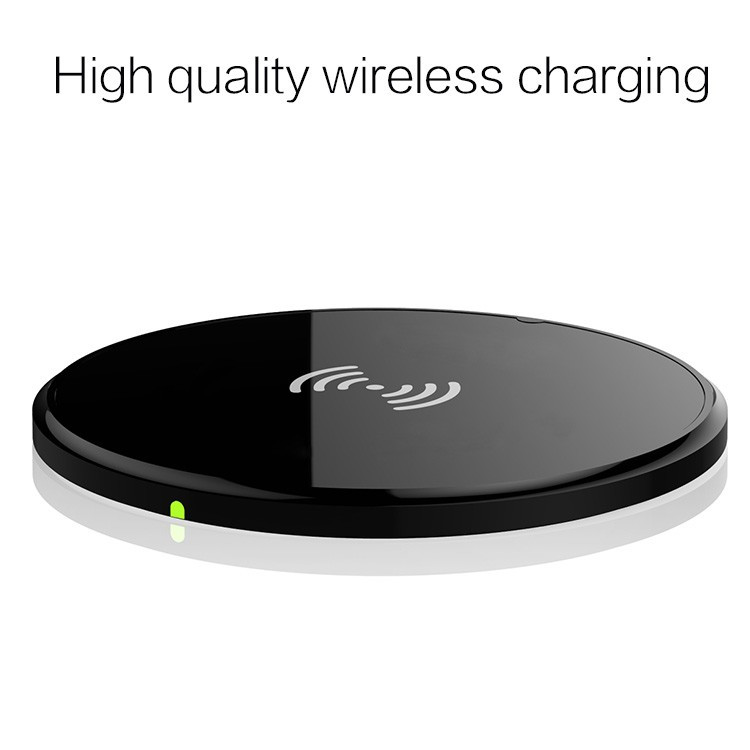 Universal 8mm ultra Thin disk Wireless charging transmitter board base Qi standard Wireless charger for Samsung note5/S6/S6 edge