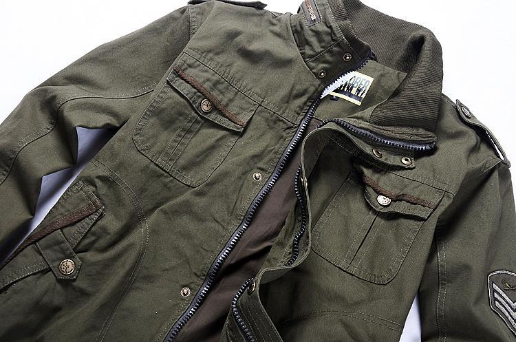 Images of Army Green Jacket Mens - Reikian