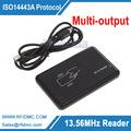 13 56MHz Reader RFID Reader USB Proximity Sensor Smart Card Reader Multi output