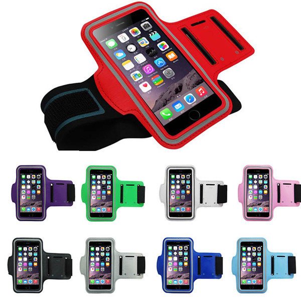 iPhone 6 Outdoor Sport Running Arm Band Gym Wrist Strap Tune Belt Cover Holder phone cases - Anne Digital Accessories store