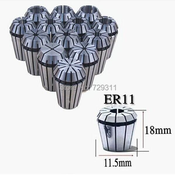! 13pcs(13 size ) ER11 PRECISION SPRING COLLET Set CNC milling lathe tool - Online Store 729311 store