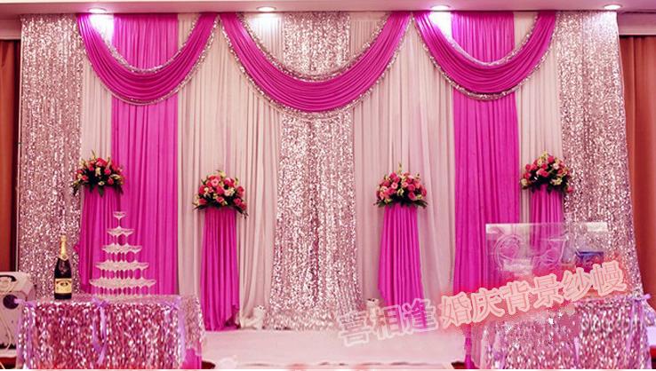 Simple Stage Backdrop Design