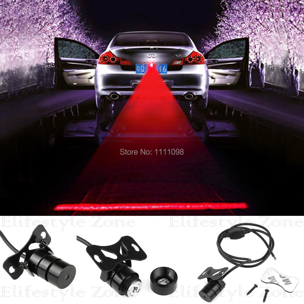 Новые авто лазерная противотуманная фара заднего предотвращения столкновений безопасности движения предупреждающий сигнал лампа