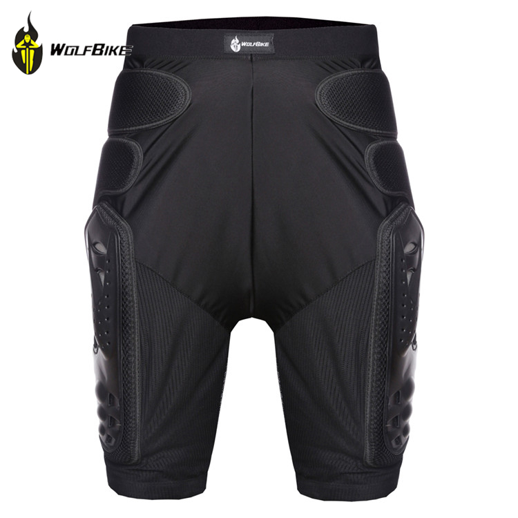 New WOLFBIKE Hockey Motorcycle Armor Shorts Downhill Mountain Bike Skating Extreme Sport Protective Gear Hip Pad black s-xl<br><br>Aliexpress