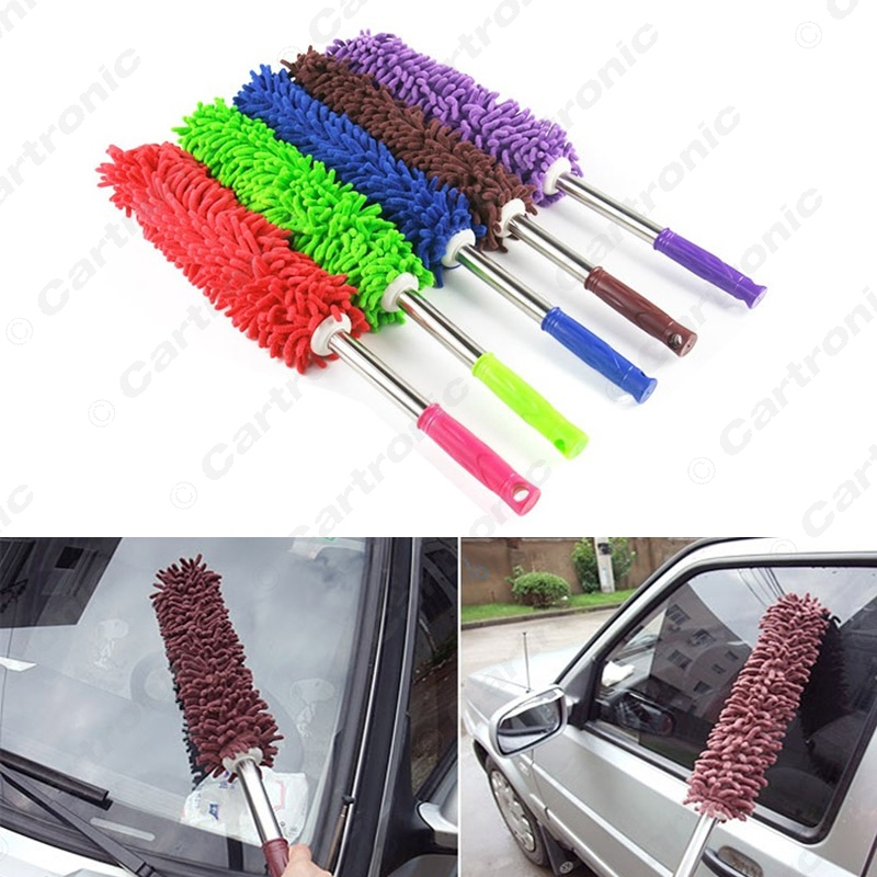 30pcs 58cm Chenille Household Dust Shan Car Duster Scalable Microfiber Cleaning Dust Shan#5438(China (Mainland))