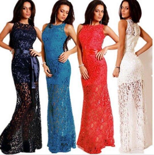 Фото кружевные платья в пол