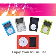 2016 Mini Clip Design Digital LED Light Flash MP3 Music Player With TF Card Slot 5 Colors Optional FM Radio Support 32GB 58(China (Mainland))
