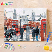 Buy Frameless London 9073 DIY Coloring Oil Painting By Numbers Kits Drawing Paint On Canvas For Wall Art Picture for $14.89 in AliExpress store