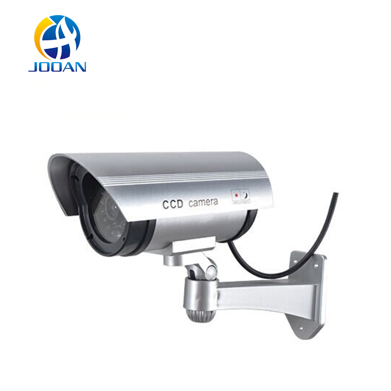 JOOAN Fake Camera Dummy Emulational Cctv Camera Bullet Waterproof Outdoor Use Security With Flash LED Fake Surveillance Camera(China (Mainland))