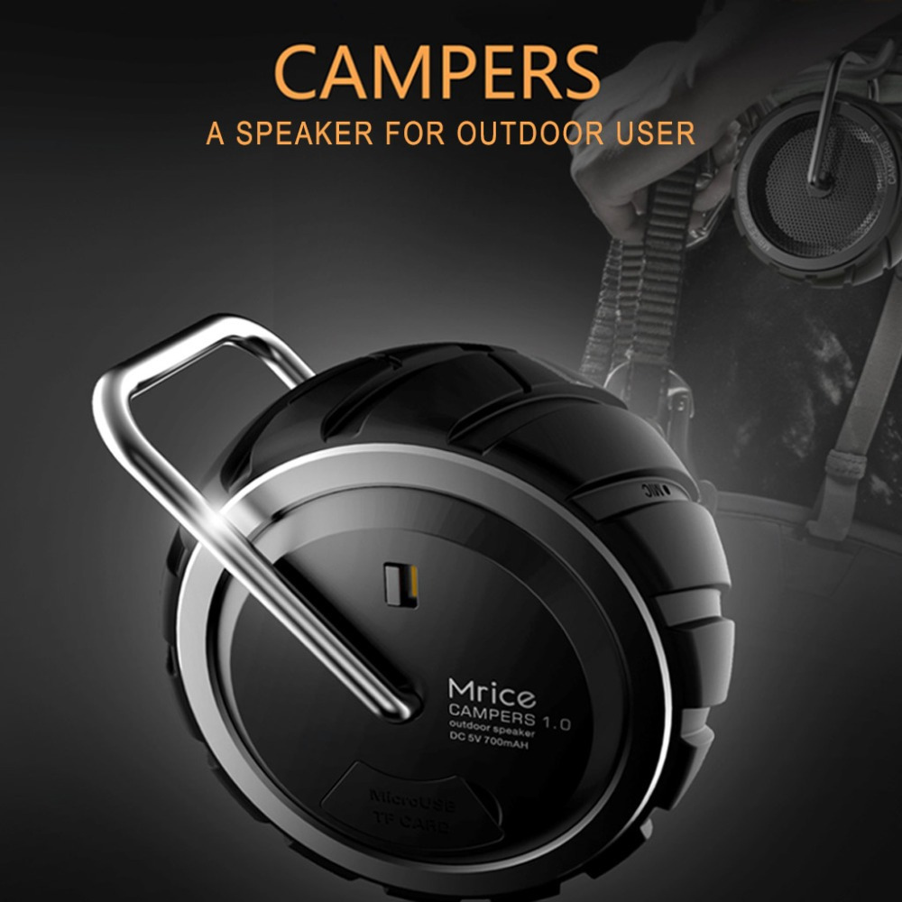 Mini Bluetooth Speaker Campers Outdoor Portable Wireless Bluetooth 2.1 Speaker Support TF Card Perfect For Smart Phone/Tablet/PC(China (Mainland))