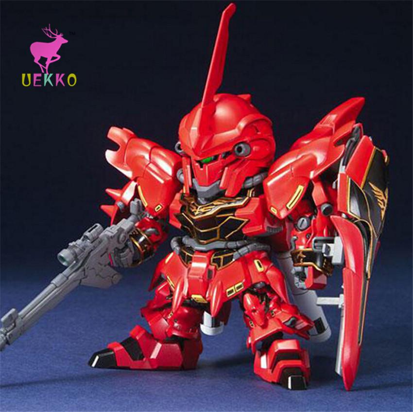 UEKKO 1:200 anime figure toy Transformation red Gundam Sinanju model robot action soldiers For Collection / Gift Original Box(China (Mainland))