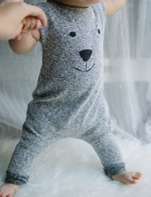 Newborn Winter Rompers 2015 Cute Toddler Baby Girl Boy Bear Jumpers Rompers Playsuit Outfits Clothes 0-24M(China (Mainland))