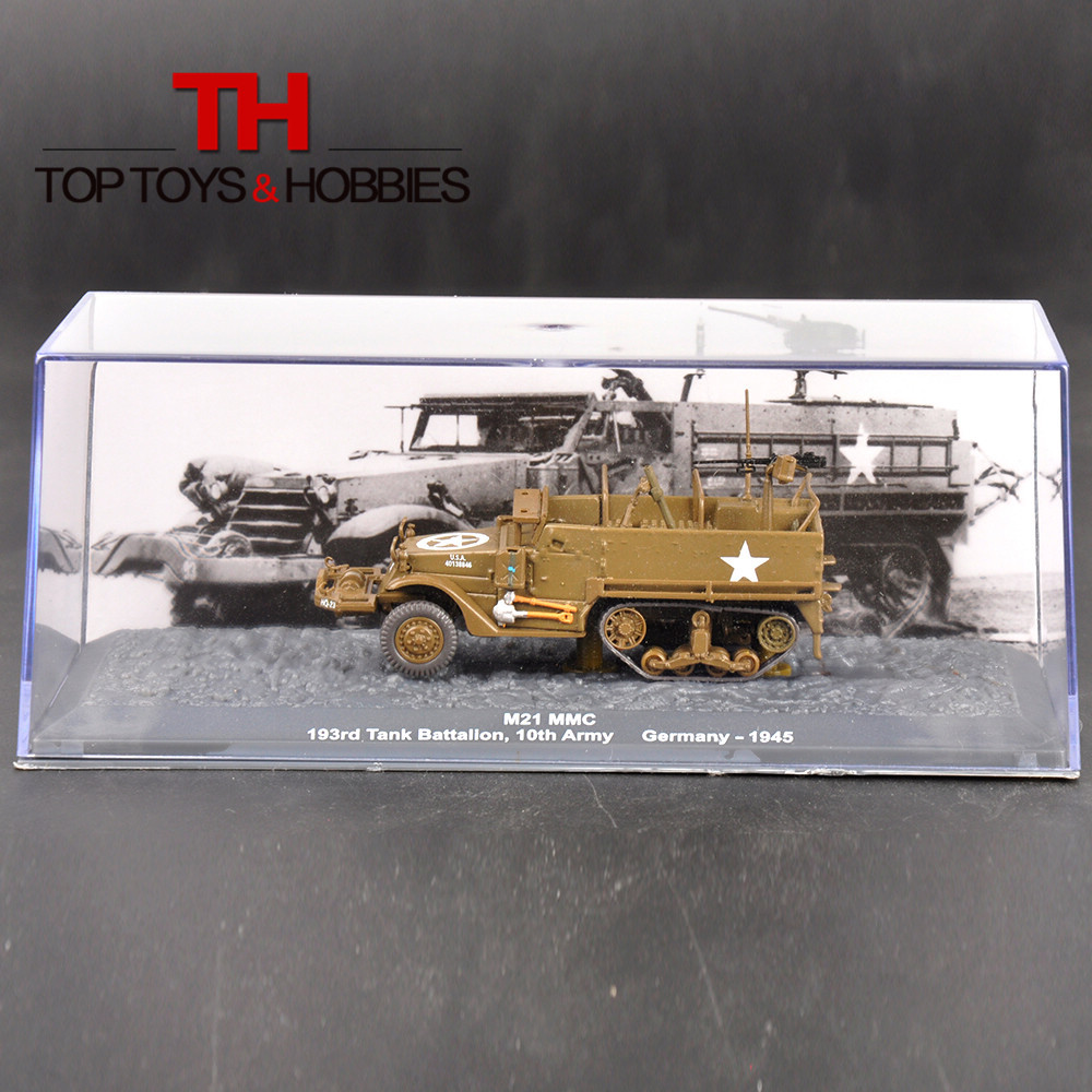Tank Models 1:72 Panzer M21 MMC 193rd Germany Tank Battalion 10th Army 1945 Truck Toys Collection diecast(China (Mainland))