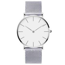 Drop Shipping Watches For Men Women Ultra Slim Quartz Watch with Simple Nylon Band Relogio Masculino Wristwatches Free Shipping(China)