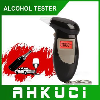 hot selling alcohol tester with led portable breathalyzer/ alcohol vending machine with red color blacklight pft/683