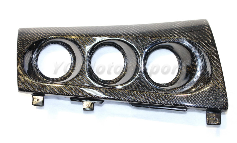 Carbon Fiber Triple Gauge Pod Fit For 2008-2012 Mitsubishi Lancer Evolution EVO X EVO 10 RHD M7 Style Triple Gauge Pod<br><br>Aliexpress