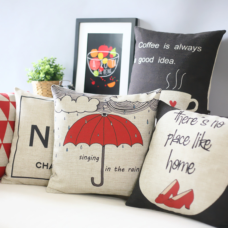 Miss England art Pillow s,Simple Lovely personality Red Pillow Cushion , Pillow home decoration sofa cushions(China (Mainland))