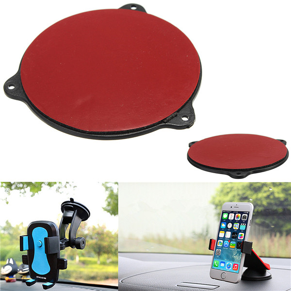 Best Price Simple Universal Mount Car Cradle Holder GPS Adhesive Dash Board Suction Disc Disk Sticky Pad removal by hand(China (Mainland))