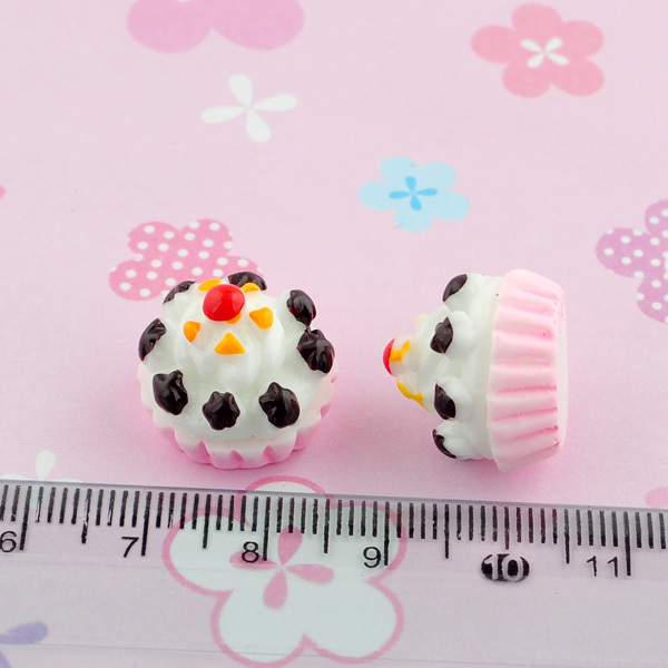 Free Shipping 2014 new 20Pcs Resin Ice Cream Flatback Cabochon Scrapbooking Craft For Diy 110310(China (Mainland))