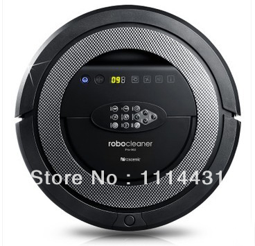 Free Shipping robot vacuum cleaner for home, Ultrasonic Wall,Schedule Function,auto charge,2pcs side brush,2pcs rolling brush(China (Mainland))