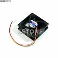 CPU PC Fan Cooler Heatsink Exhaust 80mm x 25mm 3 pin